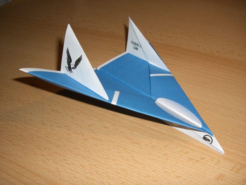 Модель бумажного самолета