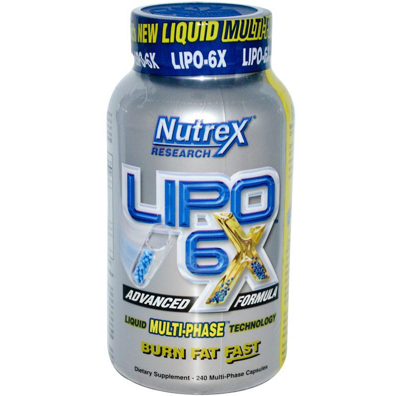 жиросжигатель Lipo-6x