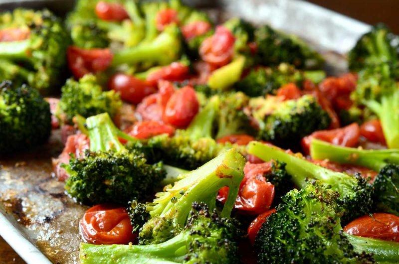 Брокколи сырая: салат «Бруклин»