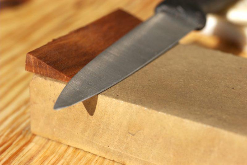 Правила заточки ножей