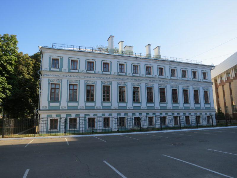Здание мещанской управы