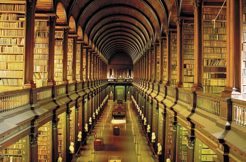 библиотека тринити-колледжа