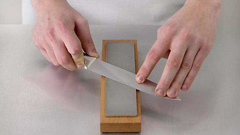 Как точить ножи правильно?