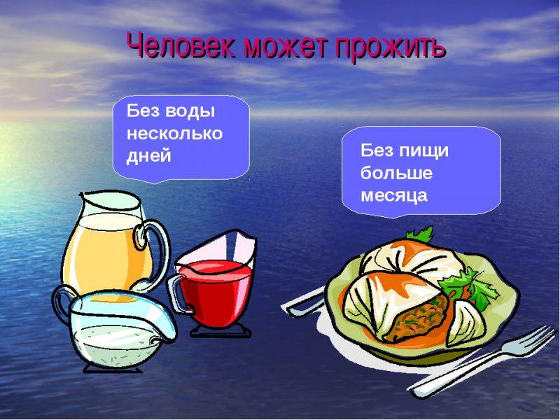 Сколько человек может прожить без еды на одной воде