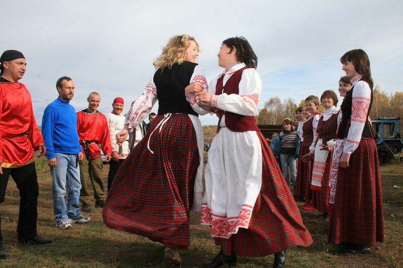 Народный праздник Спожники