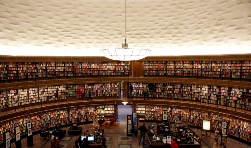 общественная библиотека стокгольма
