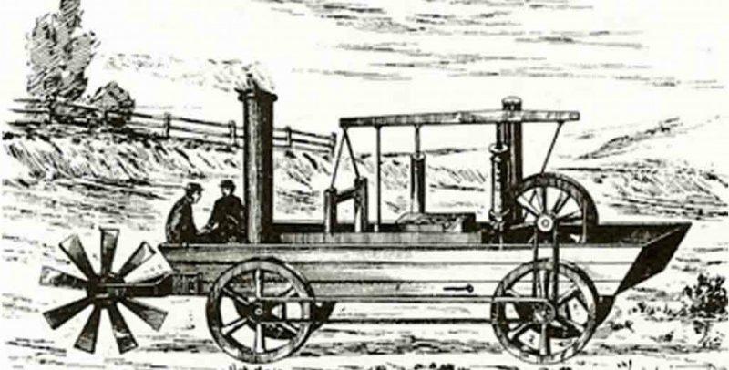 первый автомобиль-амфибия