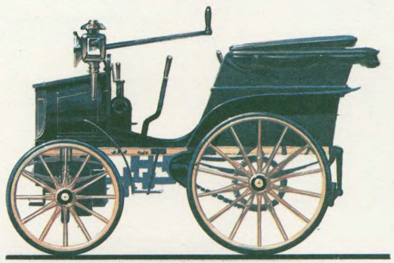 первый гоночный автомобиль