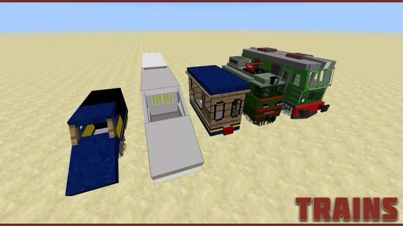 Автомобиле в игре Майнкрафт
