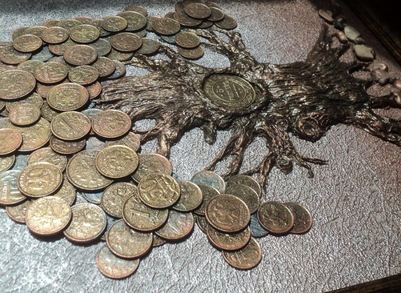 денежное дерево на годовщину