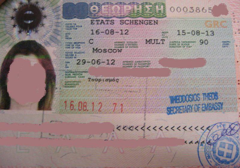 Особенности оформления визы для россиян