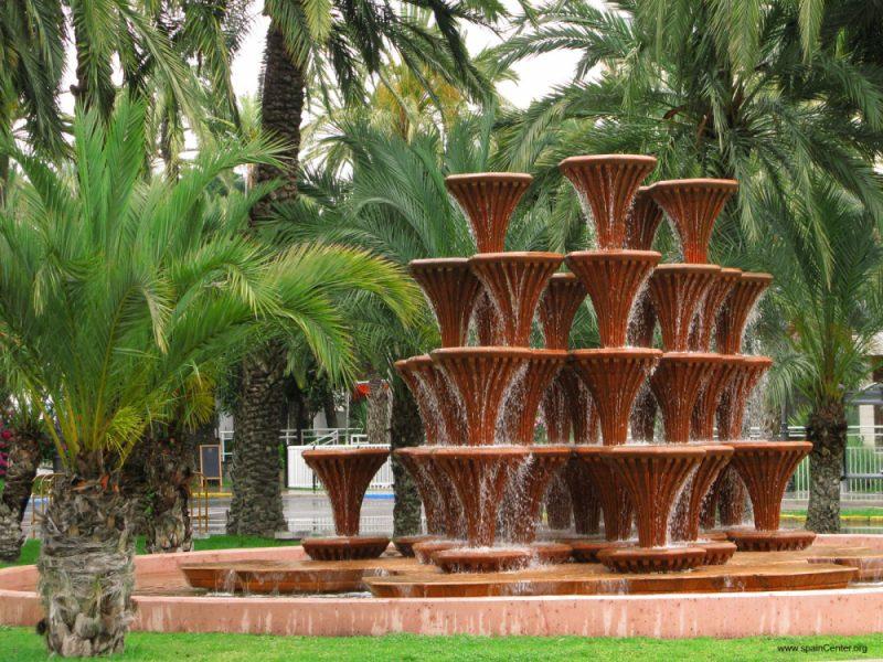 Пальмовые рощи в Эльче