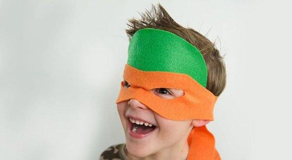 Замечательная маска для игры готова