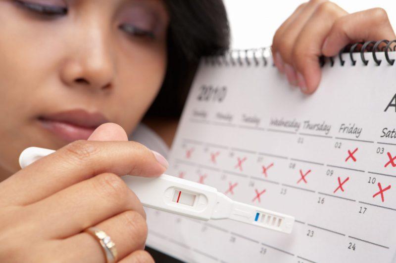 Вероятность беременности перед месячными