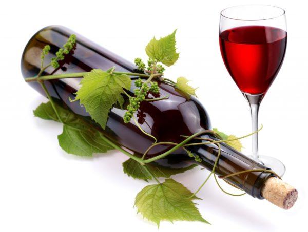 Открываем вино без штопора.