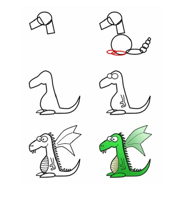 простой дракон