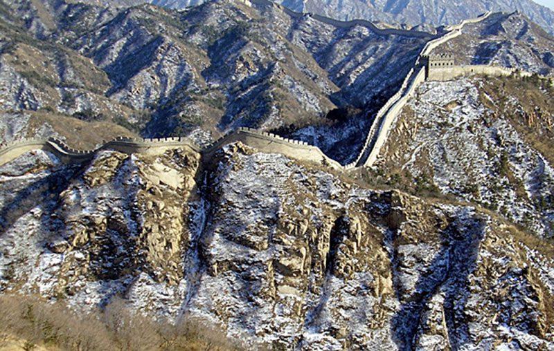 Окончание строительства Великой Китайской стены