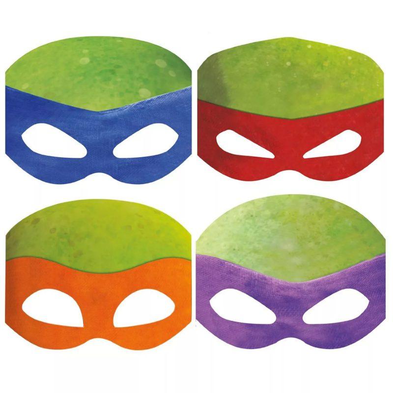 Как сделать из бумаги маску ниндзя – создаем аксессуары ...