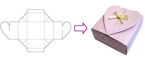 как сделать коробку без клея