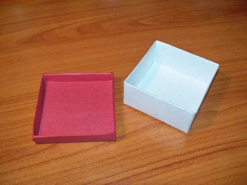 как сделать коробку просто