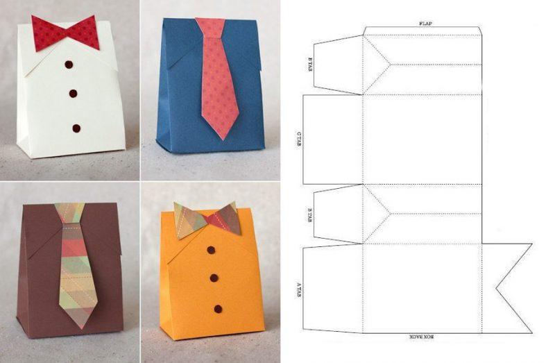 Коробка для упаковки подарка