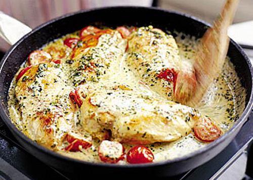 Как приготовить курицу кусочками в духовке