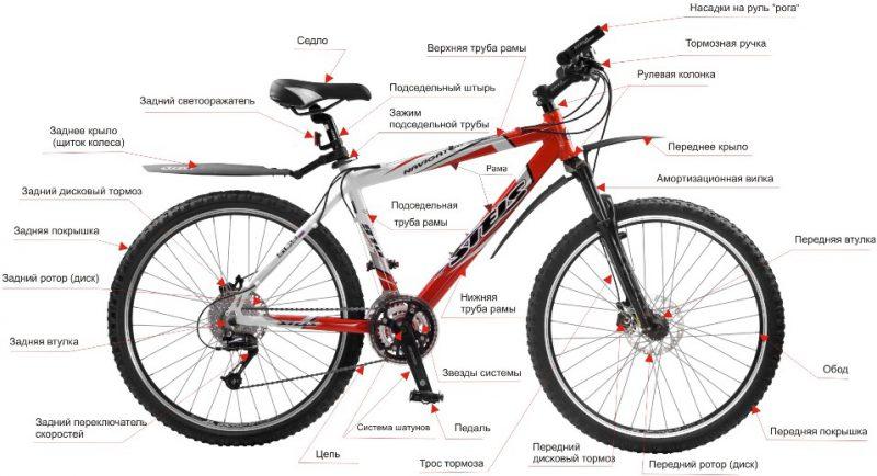 Как выбрать велосипед строение