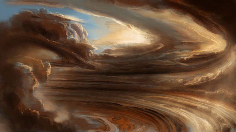 Ураган на Юпитере