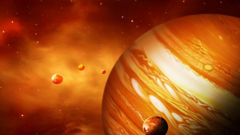 Юпитер крупно
