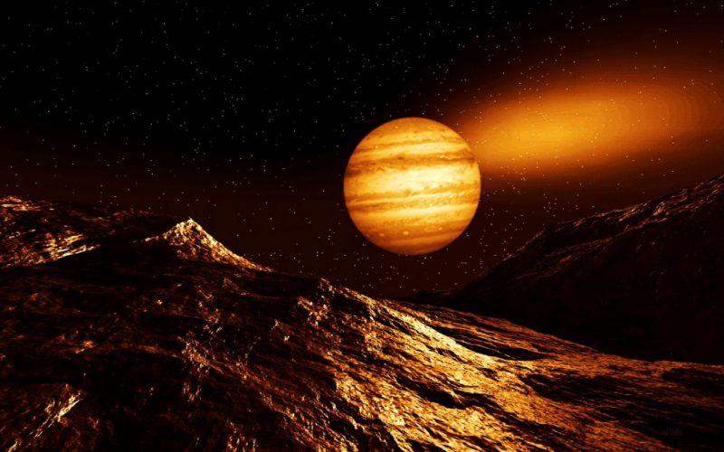 Юпитер вдали