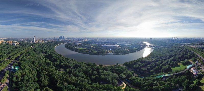 Главная смотровая площадка Москвы
