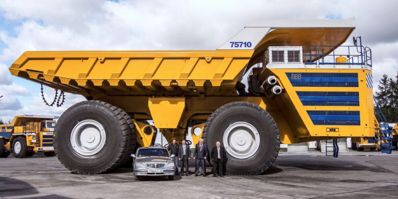 большой грузовик