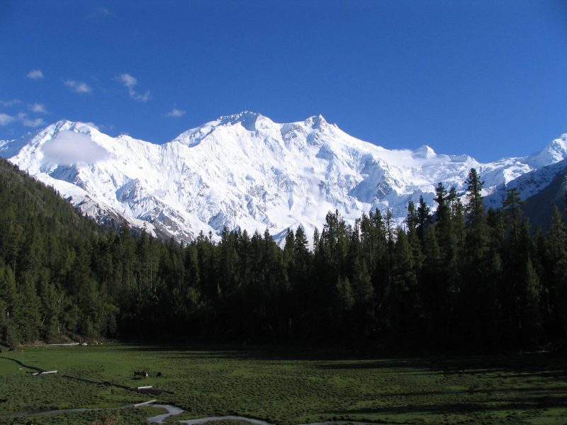 Гора Народная величественный вид