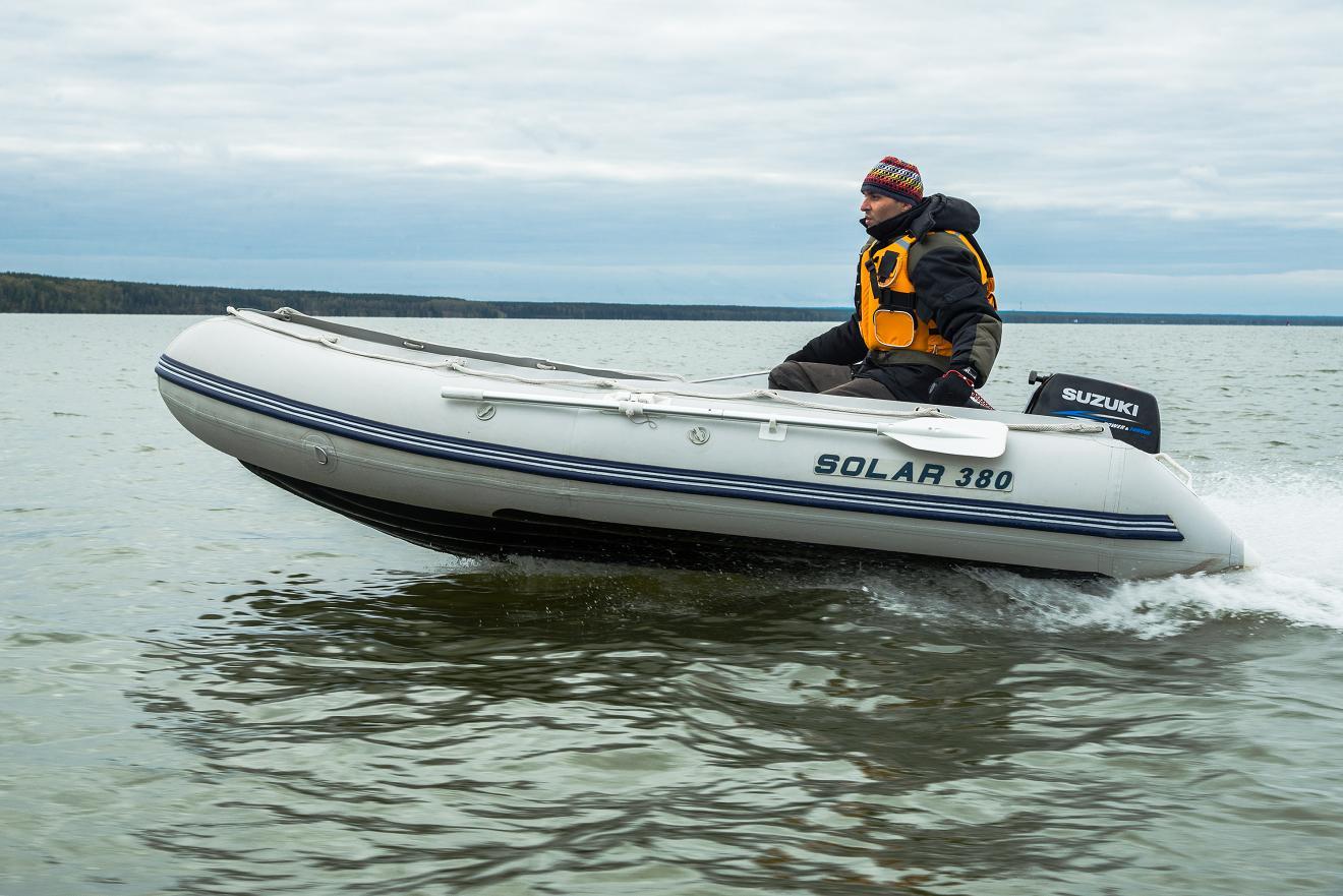 ПВХ лодка Solar 380R