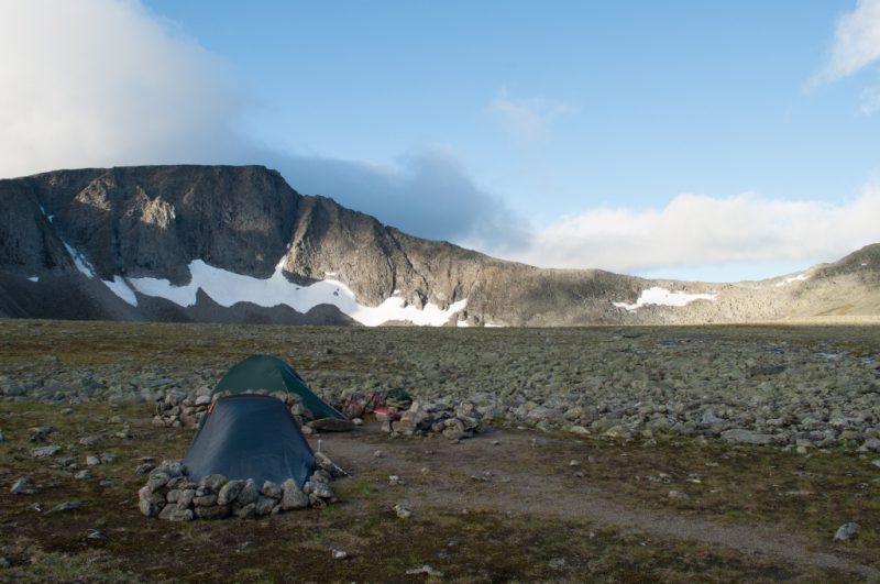 Гора Народная Палатки