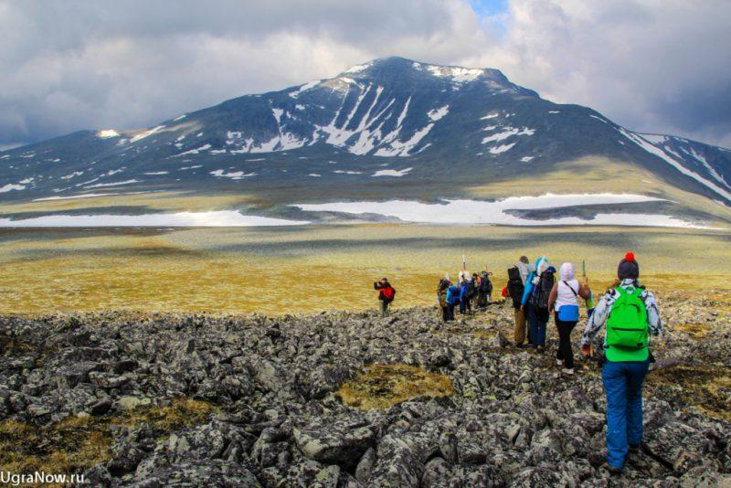 Гора Народная туризм