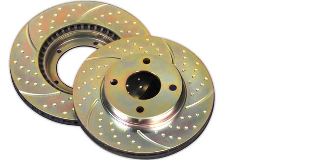 Тормозные диски EBC Turbogroove