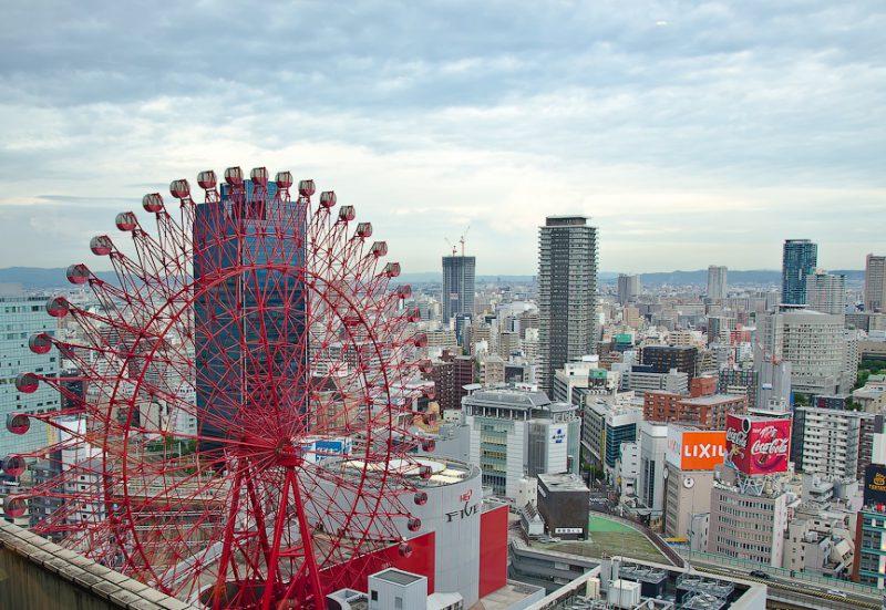Колесо обозрения в Осаке