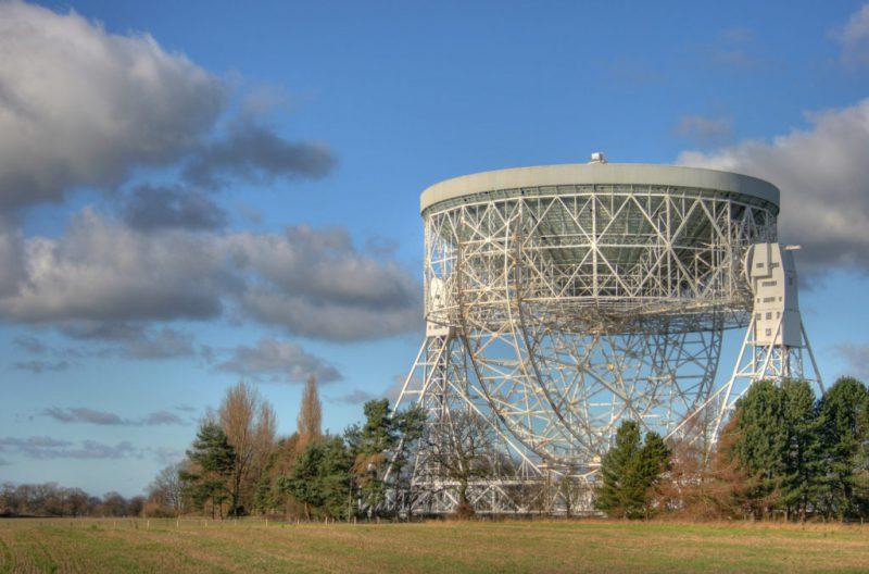 Радиотелескоп имени Б. Ловелла (Великобритания)