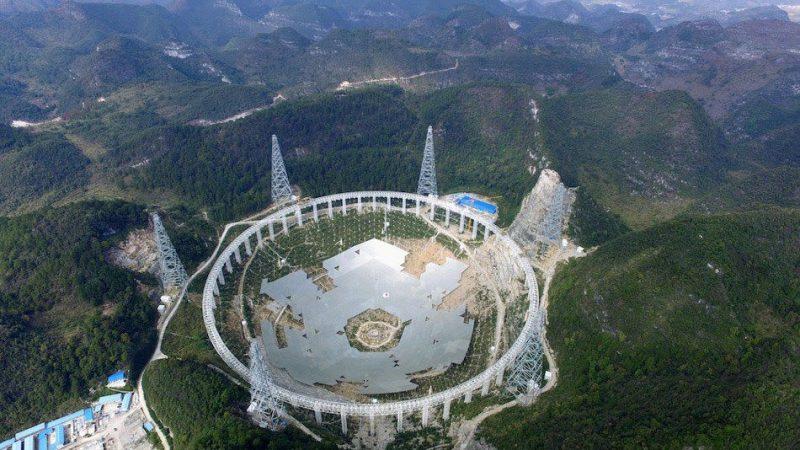 FAST – 500-метровый сферический телескоп
