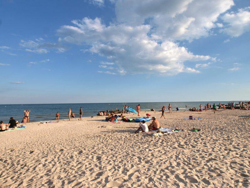 пляжи Азовского моря