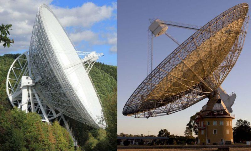 Эффельсбергский радиотелескоп (Германия)