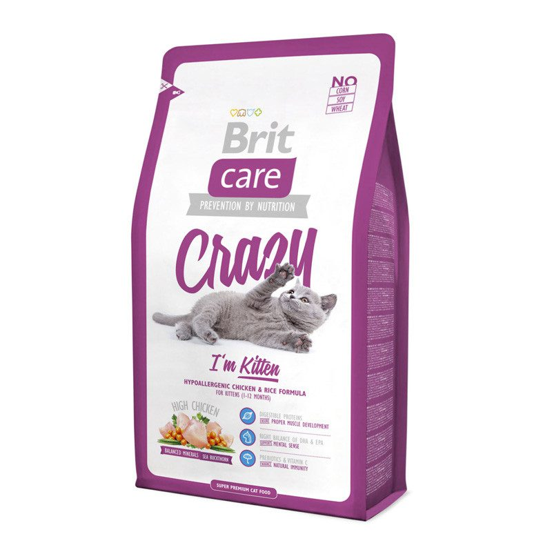 Корм Brit Care Cat Crazy I'am Kitten