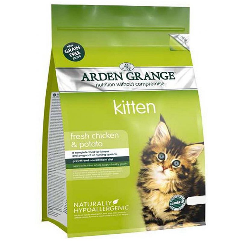 Корм Arden Grange Kitten Fresh Chicken and Potato