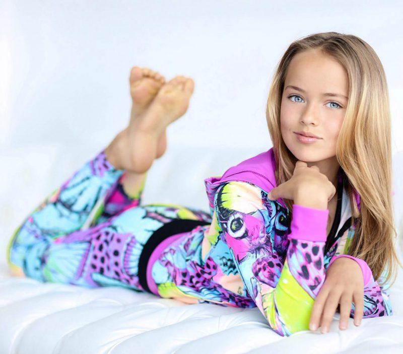 Российская модель Кристина Пименова