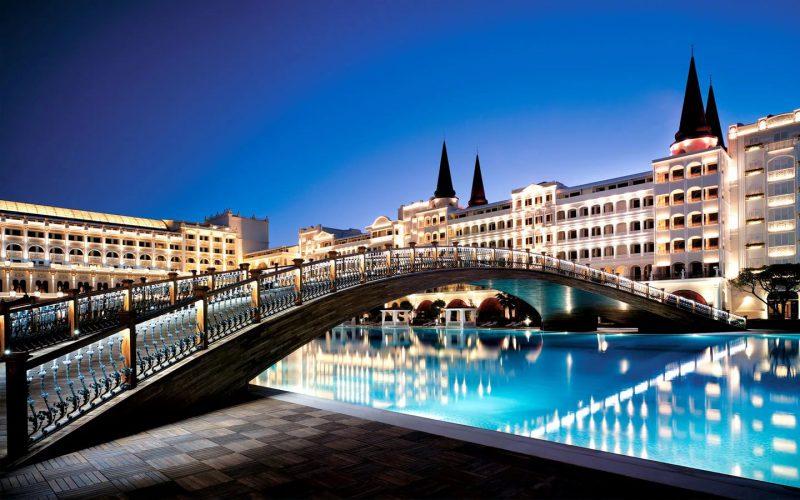 самый дорогой отель в турции
