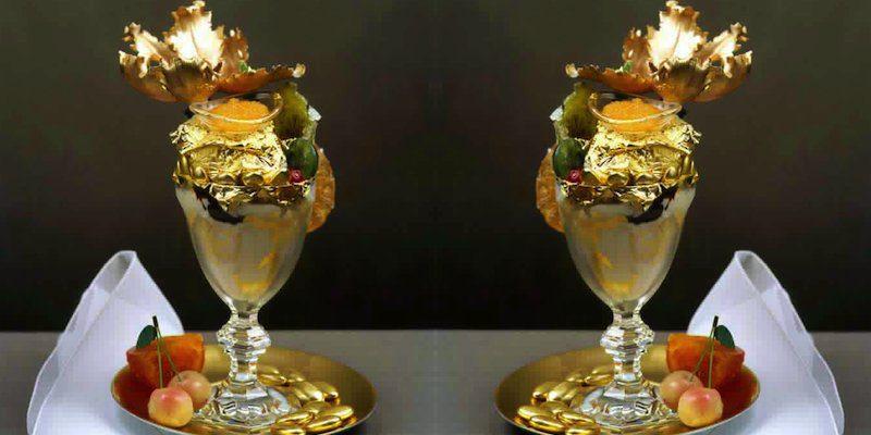 «The Golden Opulence Sundae»
