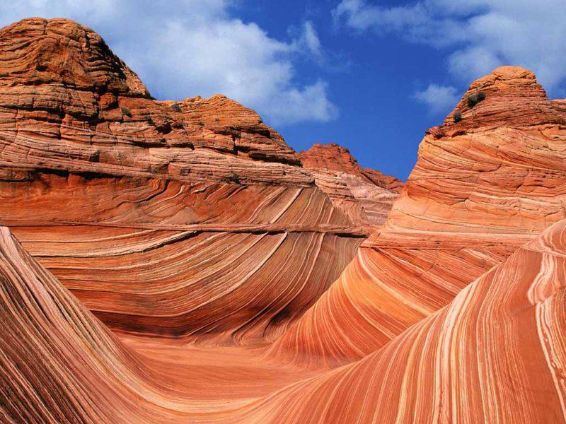 Аризонская волна на плато Колорадо в Техасе