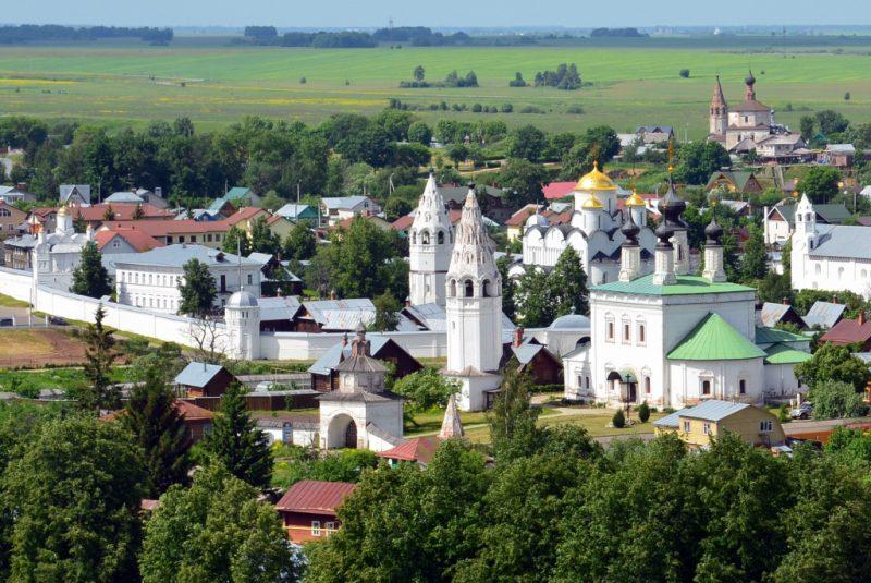 Церкви и храмы Суздали