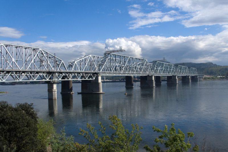Железнодорожный мост через Енисей